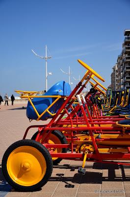 Belgique - Coxyde - plage et soleil