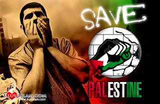 damai tanah palestina