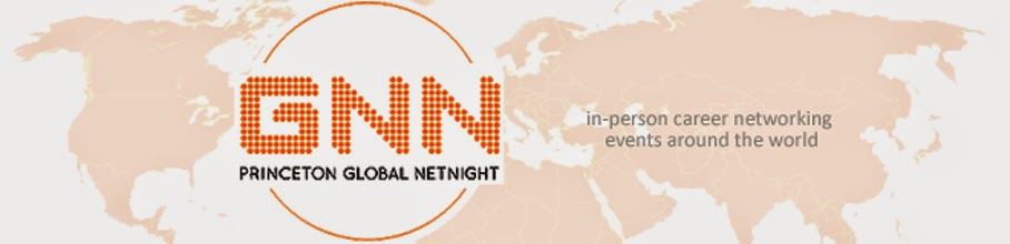 Princeton Global NetNight Logo: In person career networking events around the world
