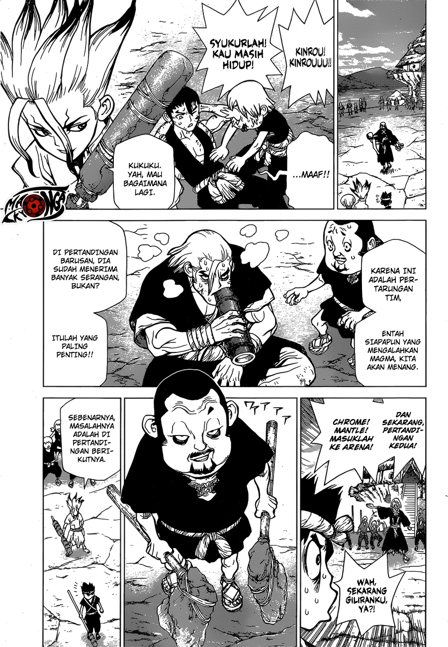 Dr. Stone Chapter 36-7