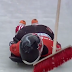Canadian skeleton racer Jane Channell crashes into broom on track (GIF / Video)