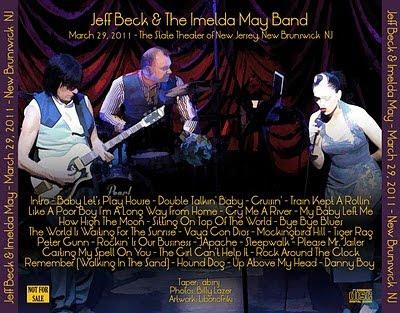 JEFF BECK 2011-03-29 New Brunswick