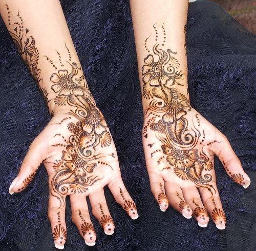 Mehndi Designs Easy Arabic : Mehndi designs for hands easy arabic