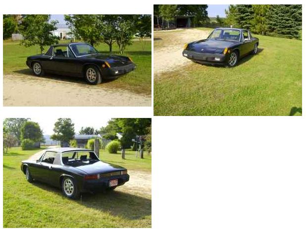 1976 Porsche 914 4500 Hersey Mi Groosh S Garage