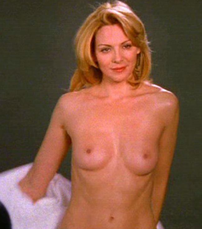 Her kim cattrall porn thighs and