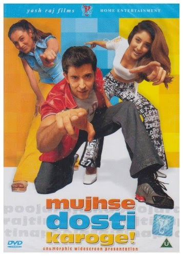 Mujhse Dosti Karoge! 2002 Hindi DVDRip 480p 400mb