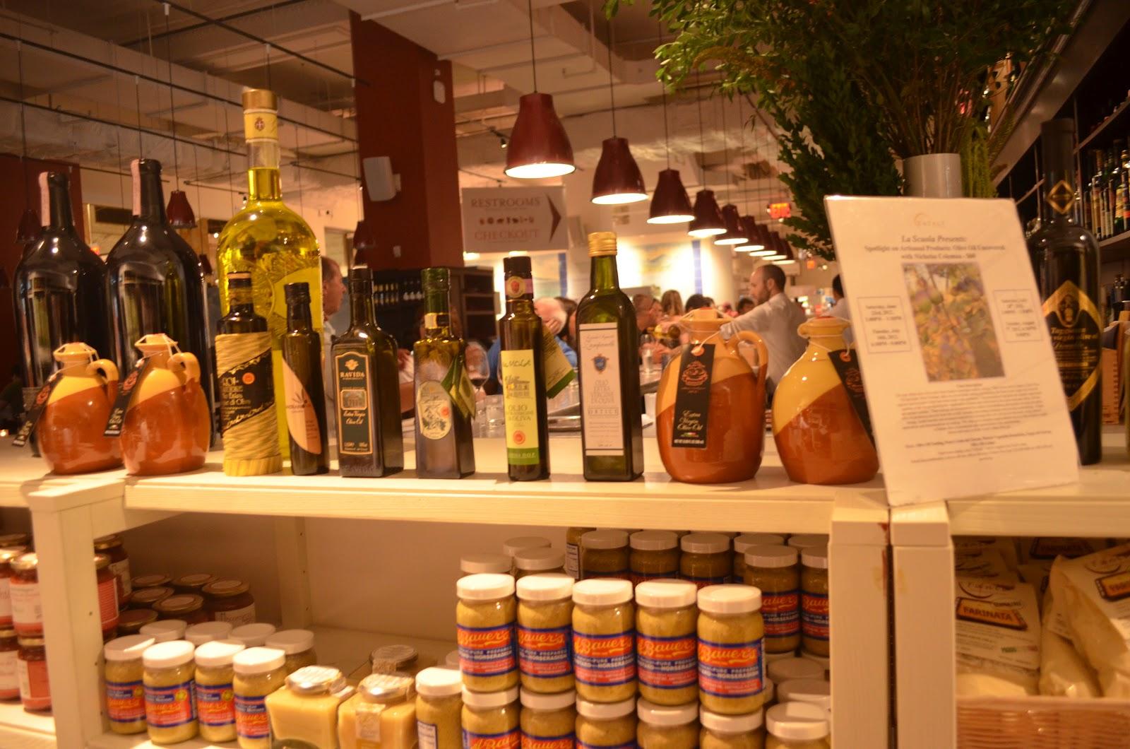 Olive Oil Tasting: Eataly Part 2 - The Wanderfull Traveler
