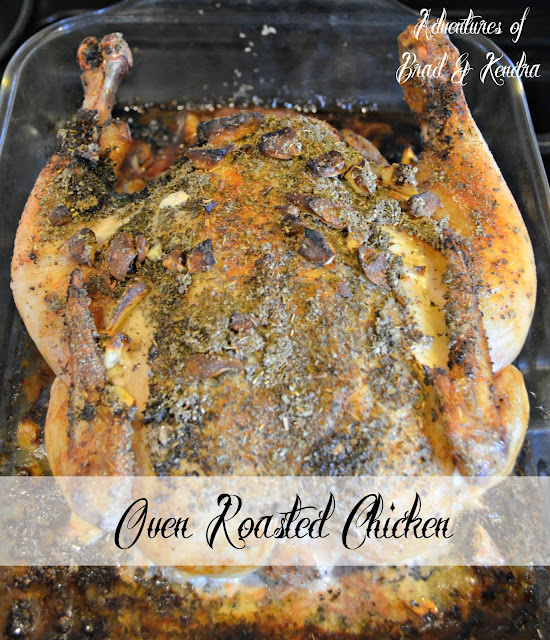 Oven Roasted Chicken Recipe