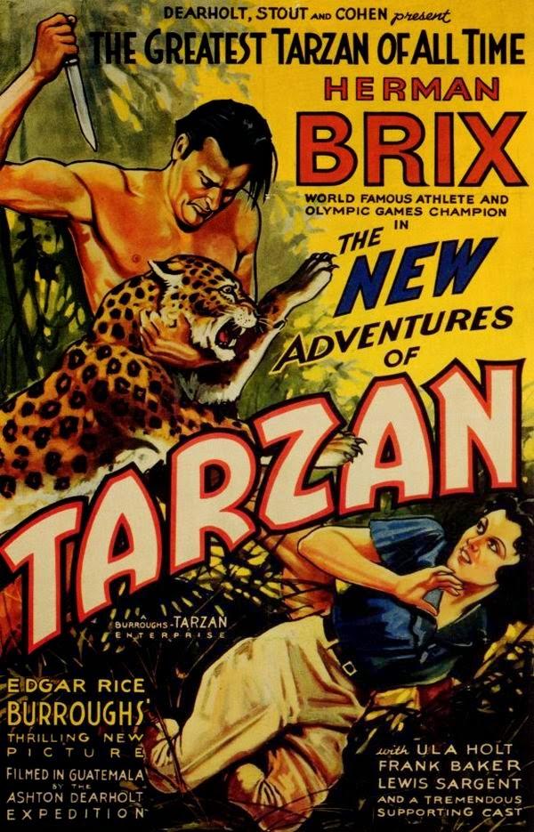Bekend Tarzan Movie Posters 1918-2014 — The Vintage Movie Posters Forum MS25