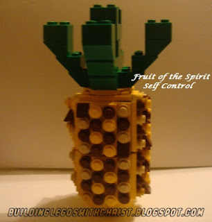 LEGO Fruit of the Spirit, Usind LEGOS to celebrate Christ