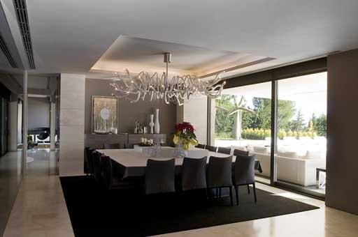 Interiores exclusiva vivienda en marbella by a cero for Decoracion piso joaquin torres