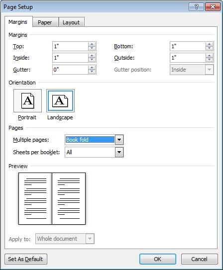mircosoft word how to make into one page