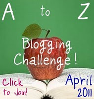 April A to Z blogging challenge