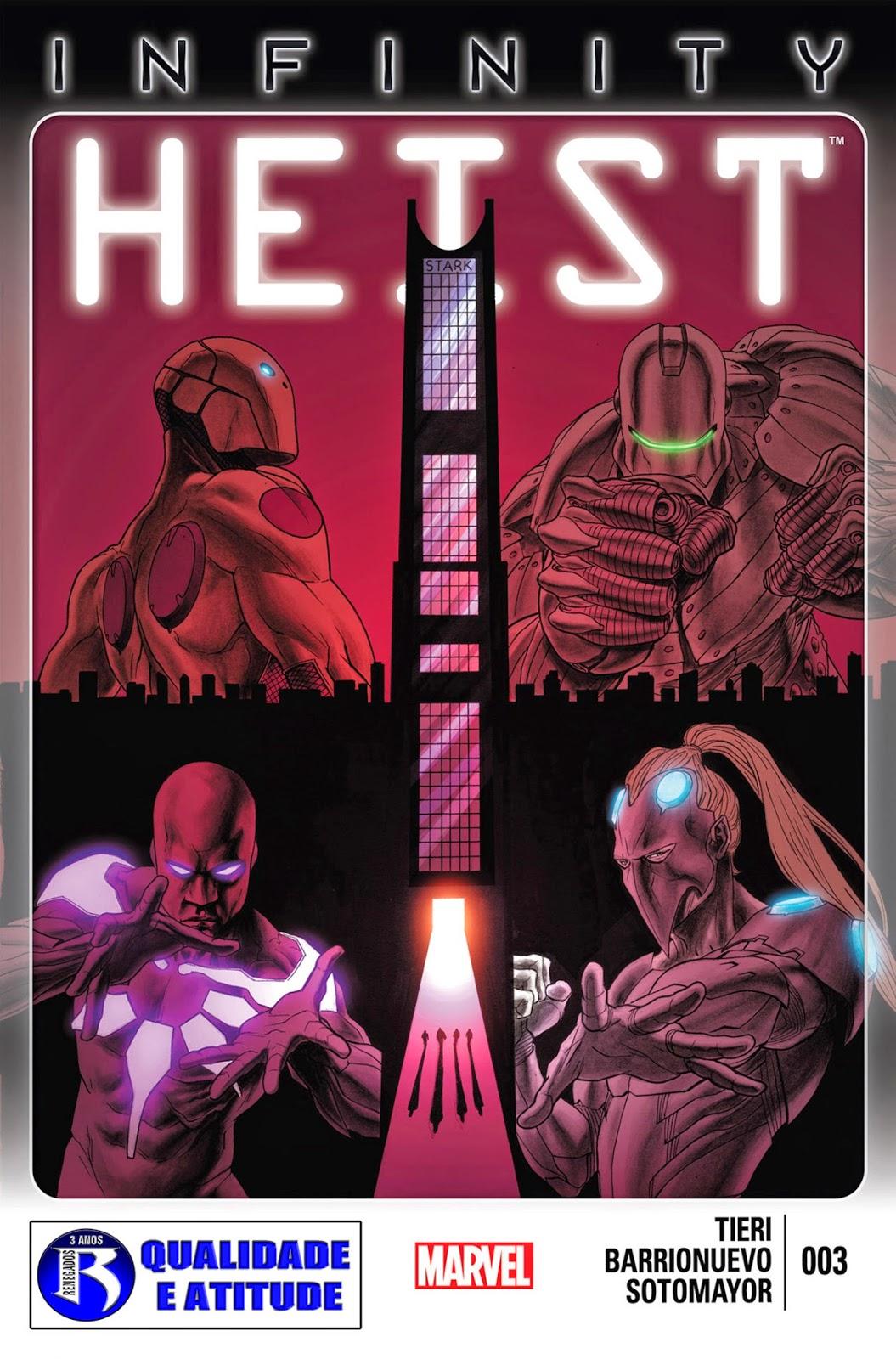 Nova Marvel! Infinito: O Golpe #3