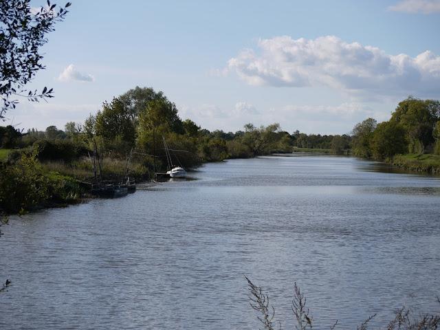 barques de pêcheurs sur la Vilaine