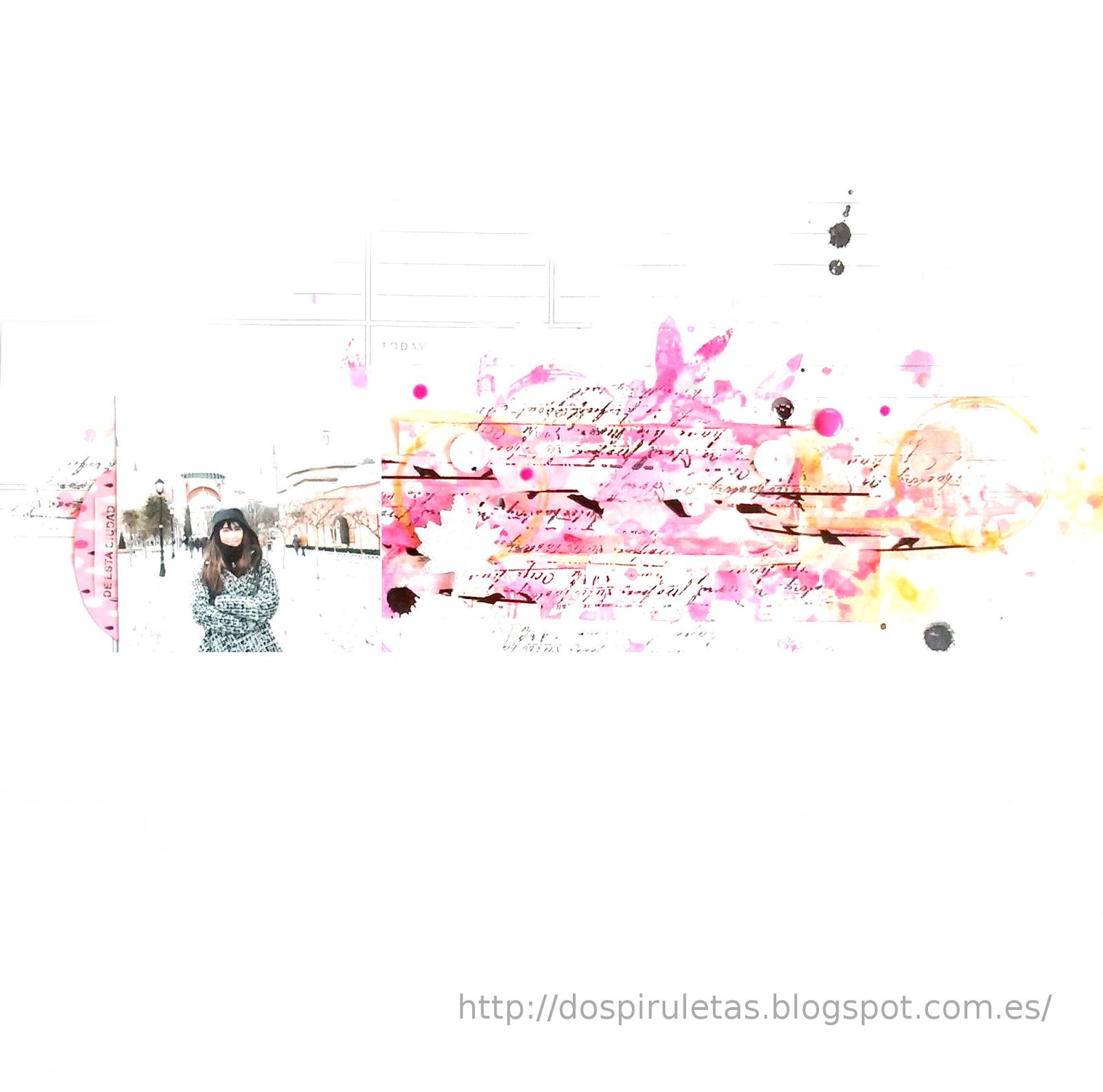Layout con tintas para Kimidori