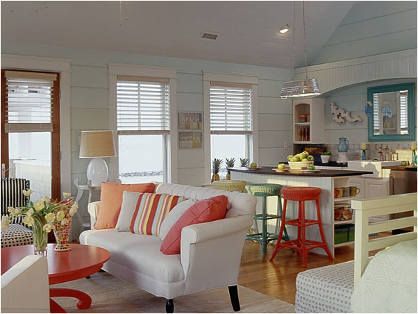 Small Coastal Cottage Interiors