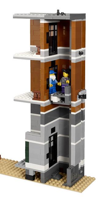 L'ascenseur isolé