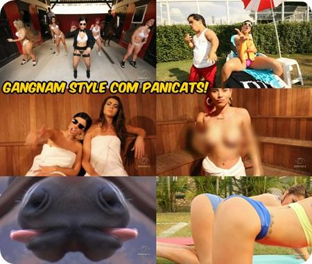 PSY – GANGNAM STYLE com as Panicats – Pânico na Band