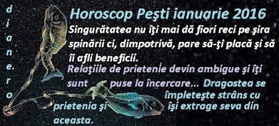 Horoscop Peşti ianuarie 2016