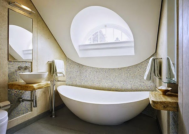 contoh desain kamar mandi mewah 2x2