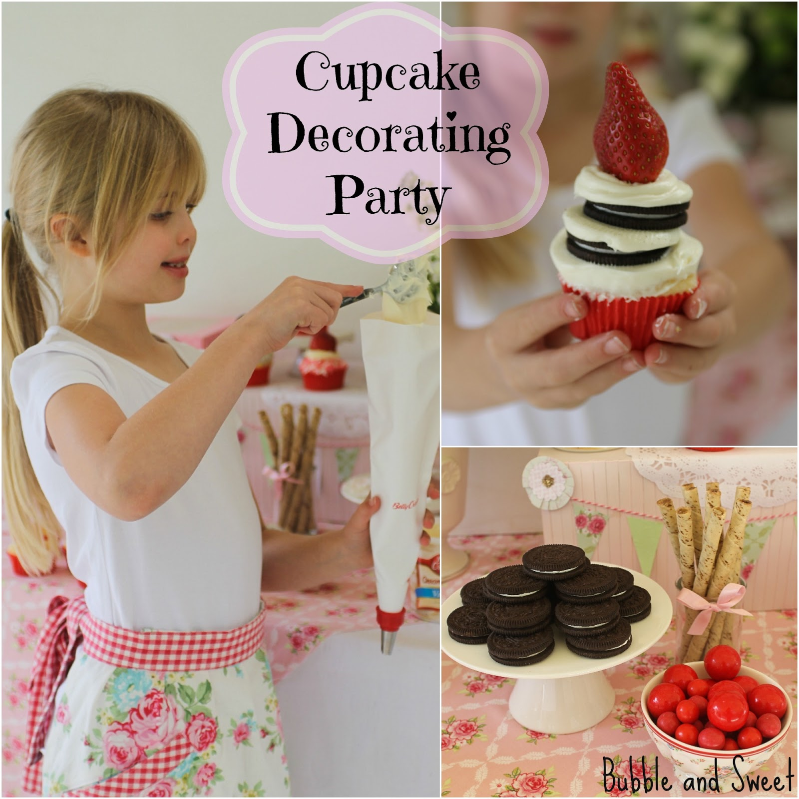 ... Host a Cupcake Decorating Birthday Party - Lillis 9th Birthday Party