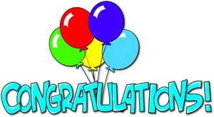congratulations text banner with balloons 0515 1007 2718 1017 SMU - winner of SOS comp May 2012
