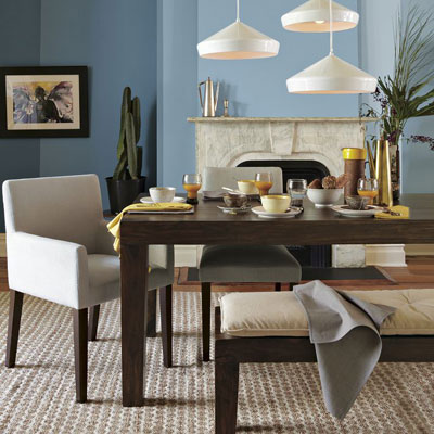 family style dining room design requires suitable dining table and
