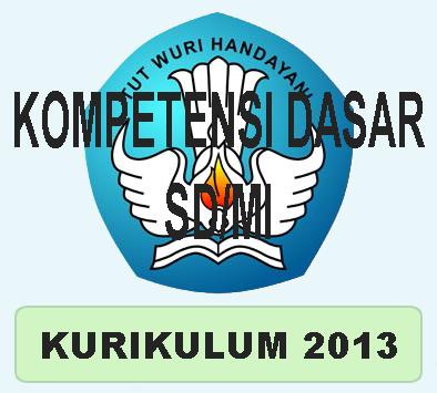 Kompetensi Dasar Kd Kurikulum 2013 Untuk Sd Dan Mi Abdi Madrasah