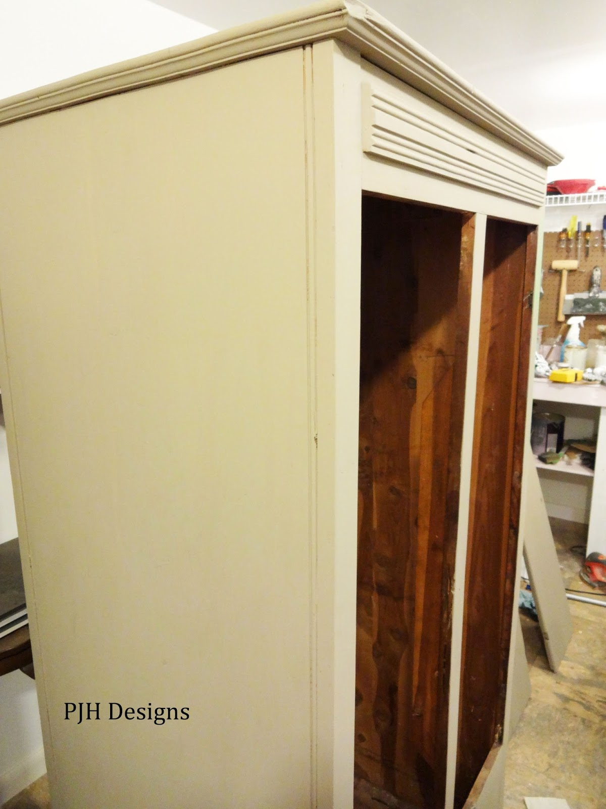 Cheap I First Painted It With Annie Sloanus Coco And After That Was  Thoroughly Dry I Gave It A Coat Of Antibes Green With Cedar Armoire Wardrobe