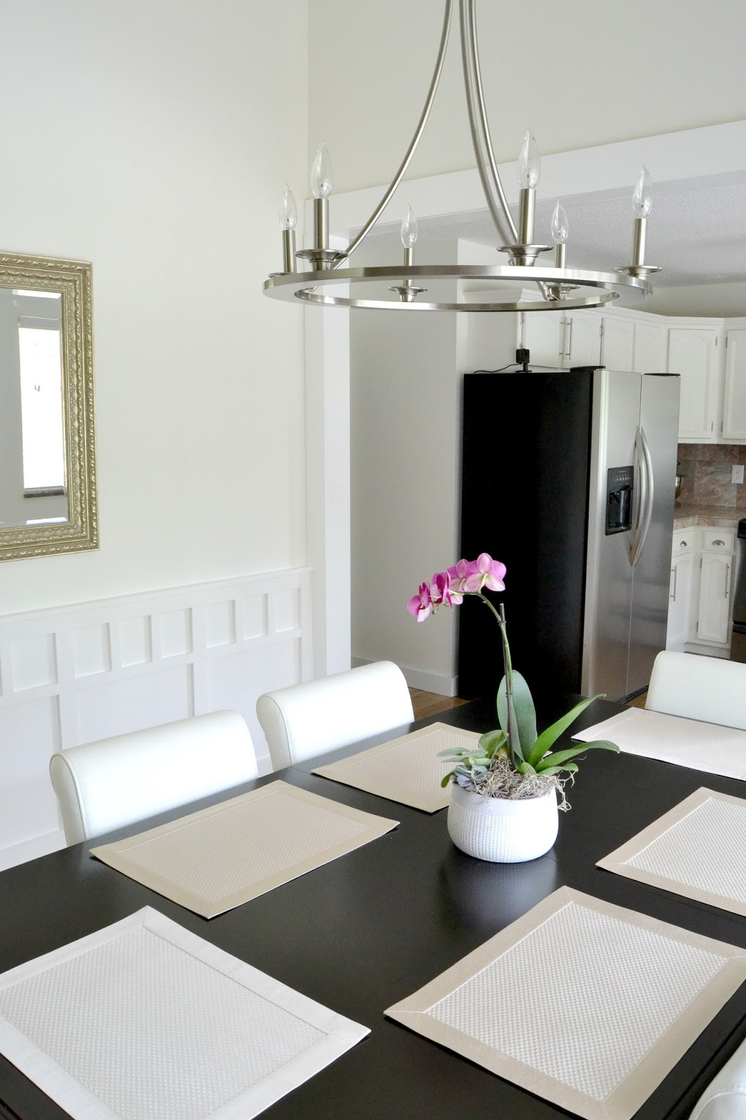 LiveLoveDIY: Our 1970\'s House Makeover Part 10: The Dining Room Reveal!