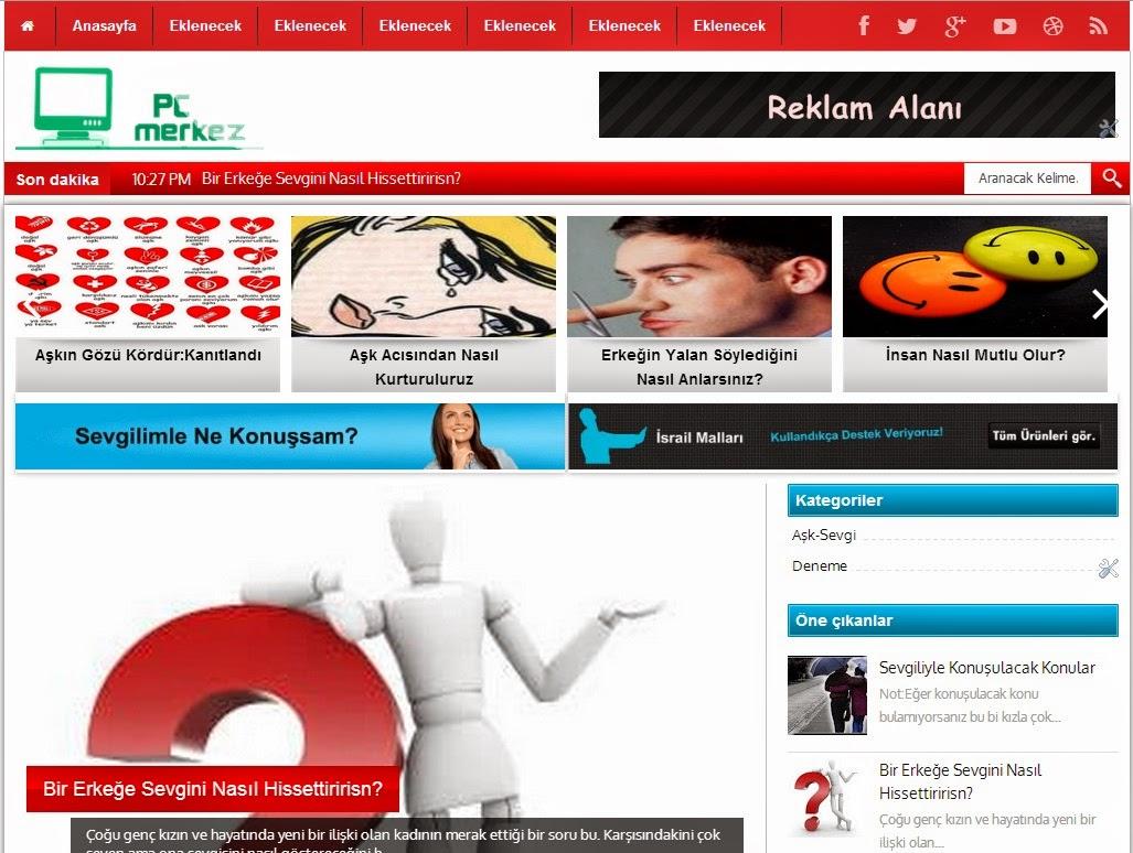 Blogger Portal Teması,Blogger haber teması,blogger temaları,blogger haber temaları,blogger lişisel tema