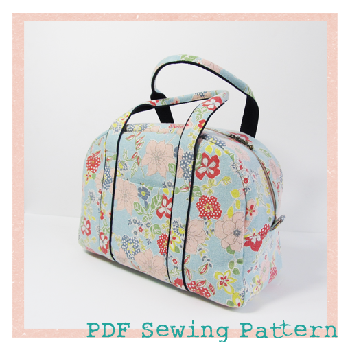 Pursepatterns : funny Rabbit: Boston bag and satchel PDF Pattern