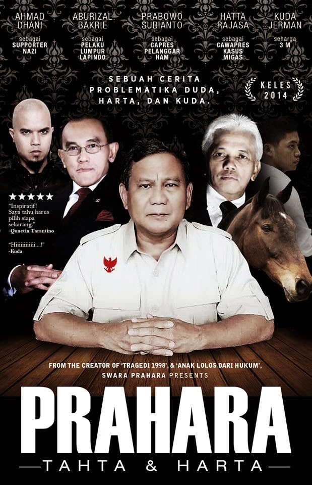 Prahara Pendukung Prabowo