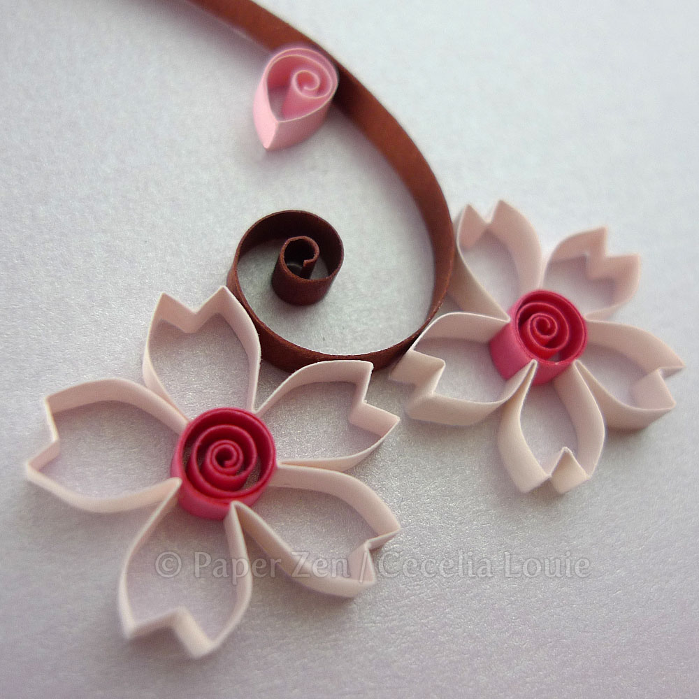 Welcome To Paper Zen Cecelia Louie Tips For Quilling Flowers