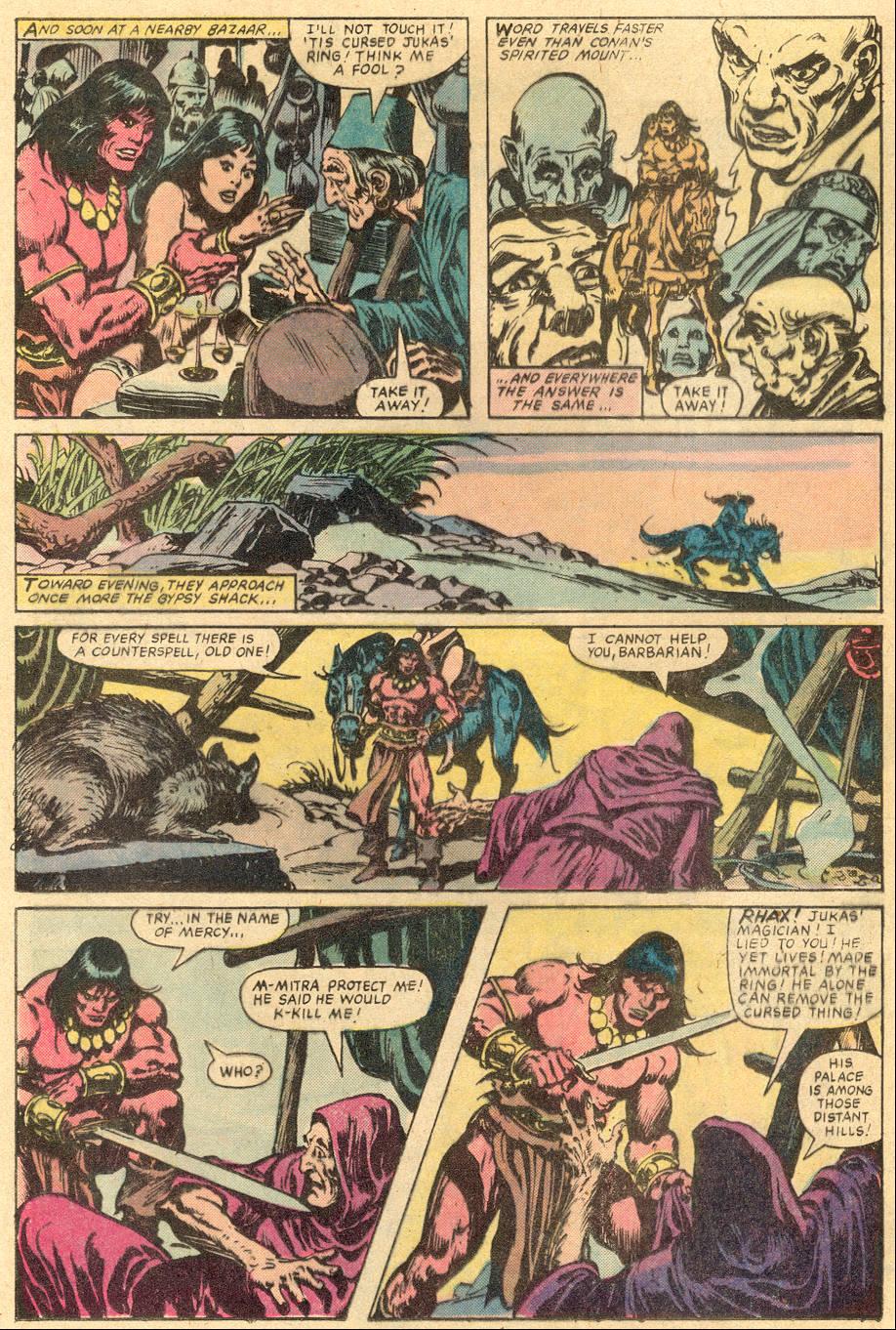 Conan the Barbarian (1970) Issue #131 #143 - English 18