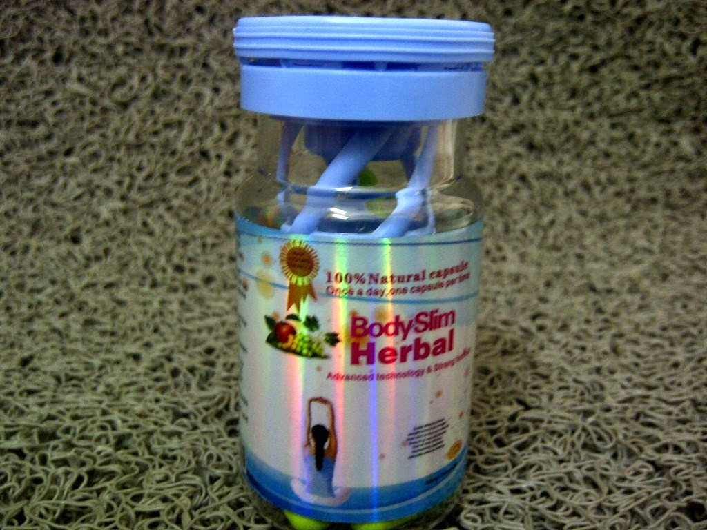 Bentuk Kemasan Original Body Slim Herbal