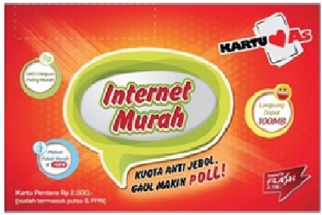 Internet Murah Kartu AS