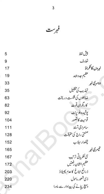 teesri leher pdf Urdu book by alvin toffler