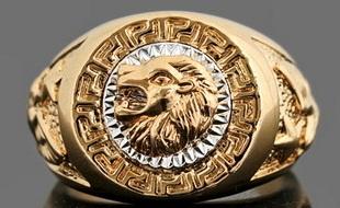 Vendo anel de ouro - Banho de ouro 18 kilates