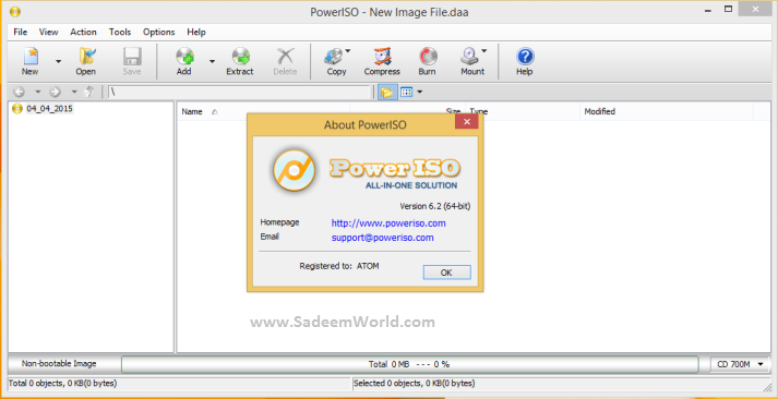 PowerISO 70 Serial Key FREE Cooler