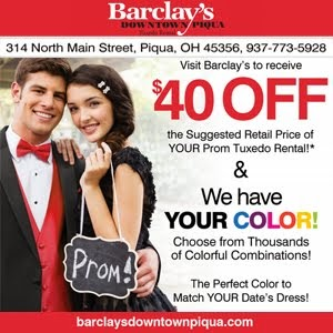 Barclay's Tux Rental