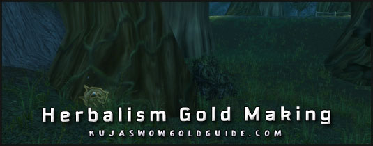 herbalism gold making in wod