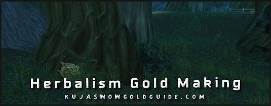 herbalism gold making in wod