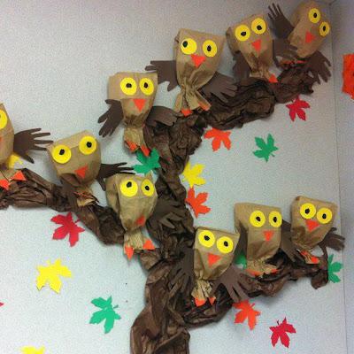 Educa o infantil atividades de materiais reciclados for Decoracion otono infantil