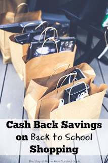 Back to School shopping for the kids does not have to break the bank. With simple tips and deals that earn you cash back and coupons, you can save money easily and teach your children how to save money and live a frugal lifestyle.