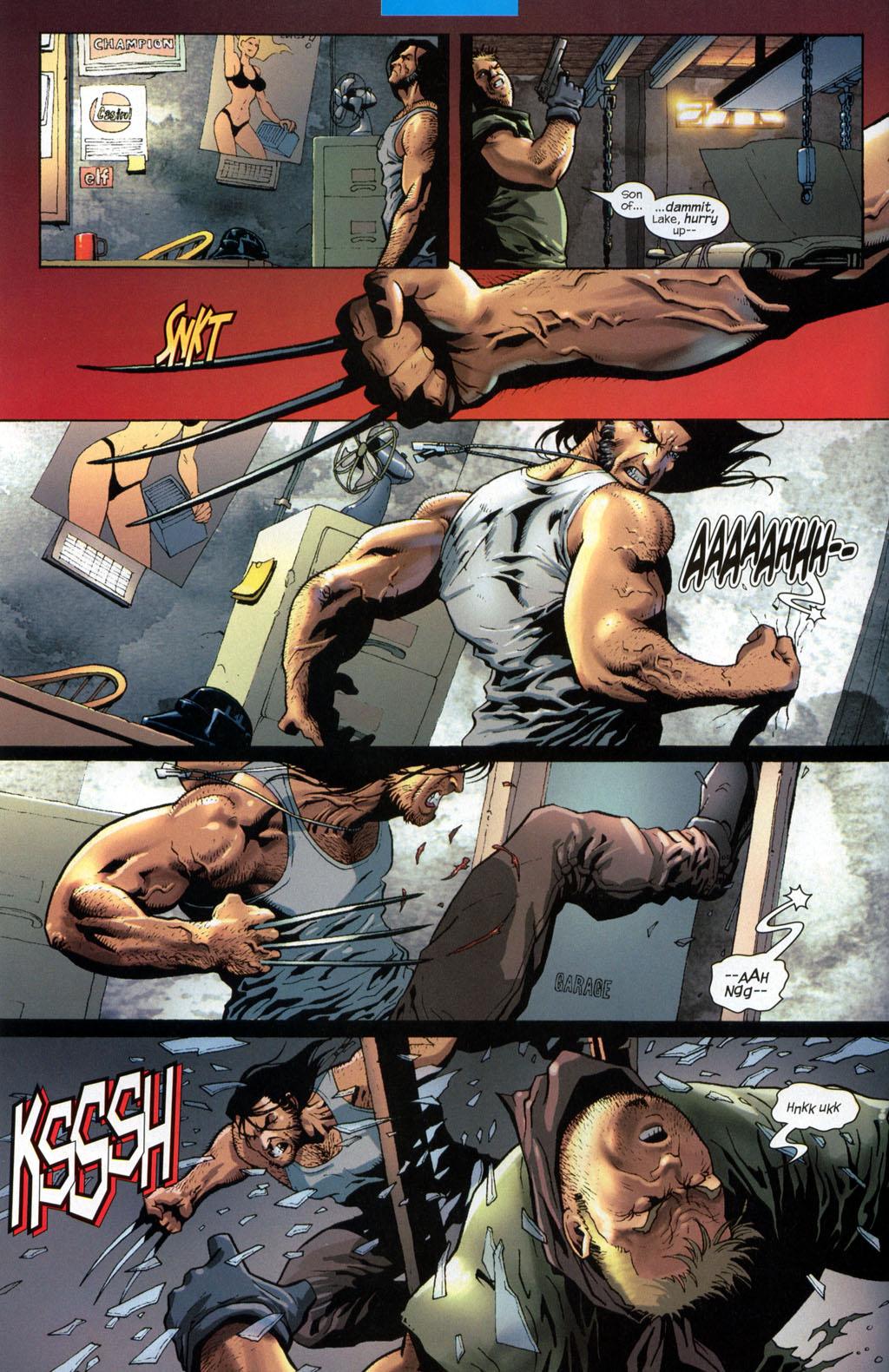 Read online Wolverine (2003) comic -  Issue #7 - 5