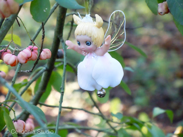 fairy near spindle tree