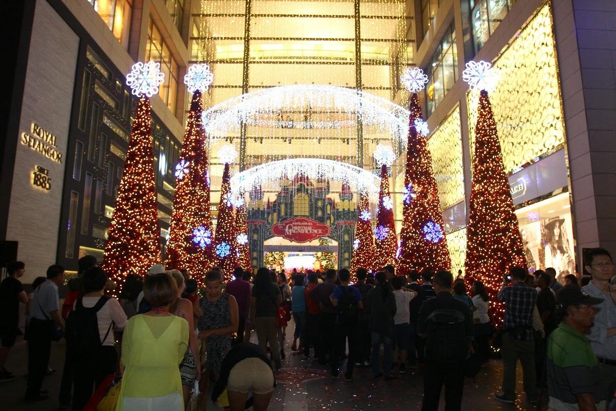Christmas, kuala lumpur, Others, Pavilion KL, travel, Magical Light Show