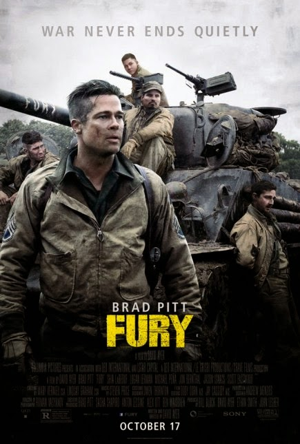 """Fury (2014)"" movie review by Glen Tripollo"
